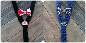 sports suspenders & bows